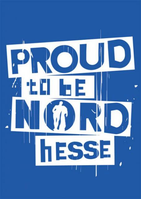 "Postkarte ""Proud to be NORDhesse"""