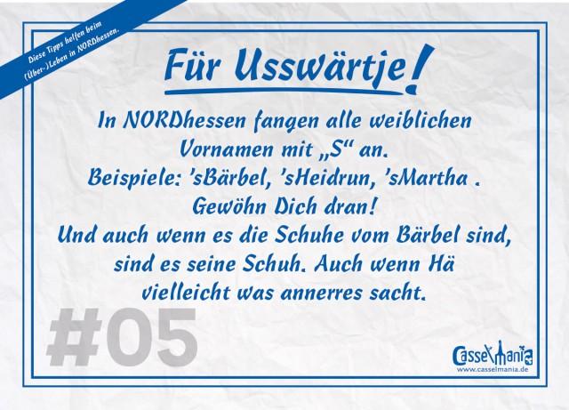 Postkarte für Usswärtje #5