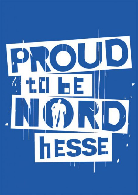 "Postkarte ""Proud to be NORDhesse"""
