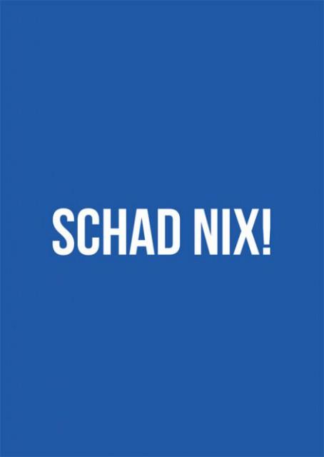 "Postkarte ""Schad nix"""