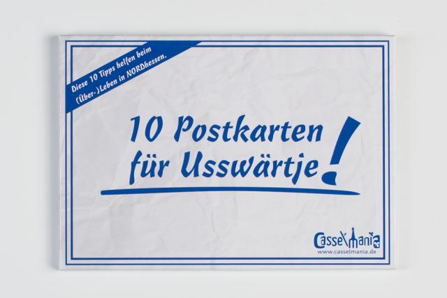 Postkarten für Usswärtje SET
